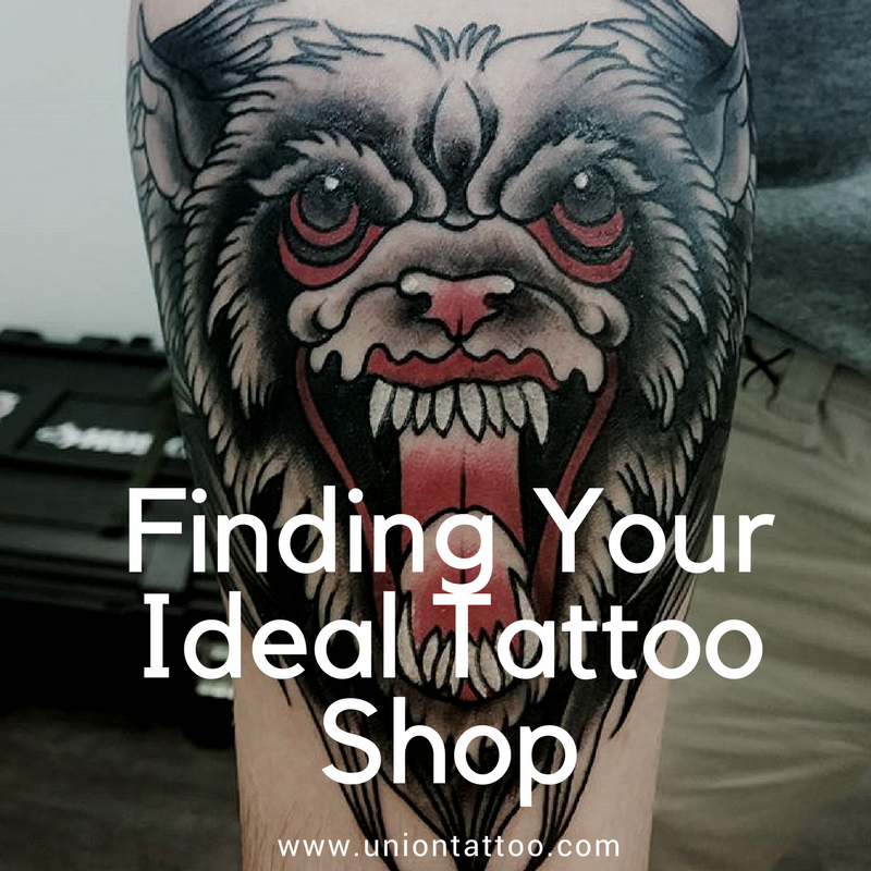 Let us help you find your ideal tattoo shop union for Find tattoo parlor