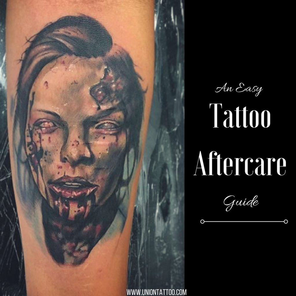 Tattoo Aftercare Guide Union Tattoo Piercing We Are A New